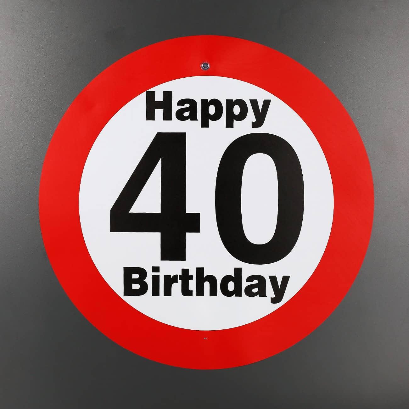 Zum 40. Geburtstag Wünsche