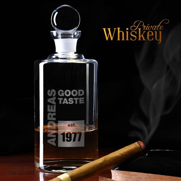 Whiskeykaraffe Good Taste