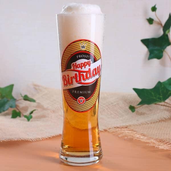 Bierglas Premium zum Geburtstag