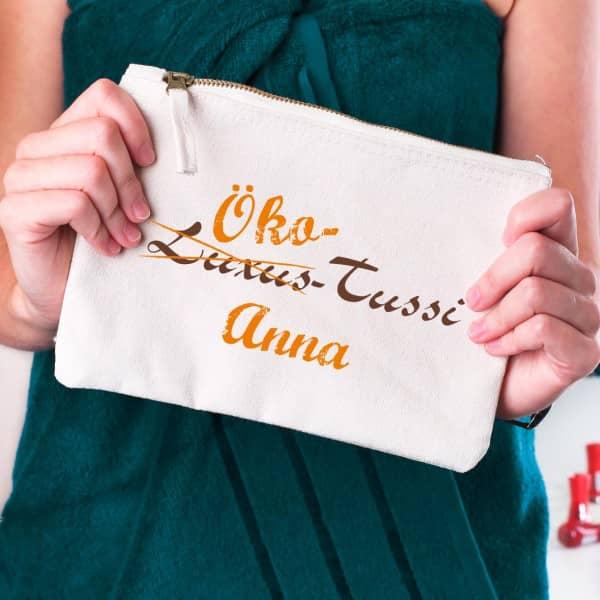 Lustige Handtasche für die Öko Tussi mit Namensaufdruck