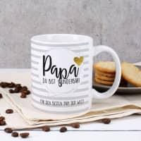 Tasse zum Vatertag - Papa du bist wunderbar!
