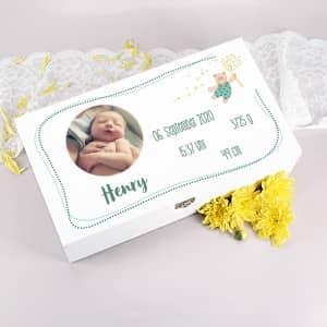 Erinnerungsbox zur Geburt