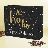 Ho ho ho! - Adventskalender zum selber füllen mit Ihrem Wunschtext
