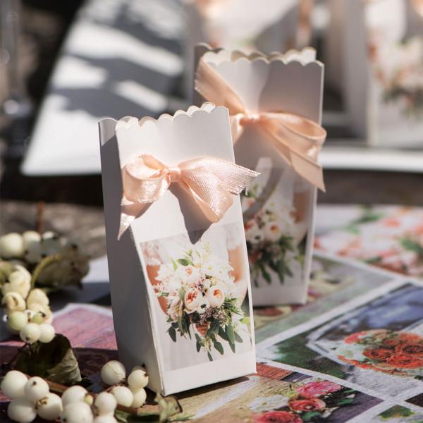 Kleine Geschenkboxen im Set zur Hochzeit