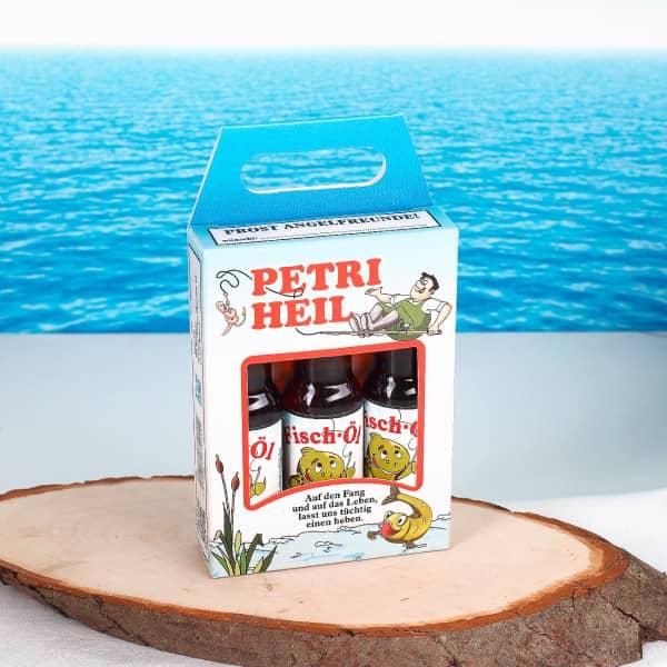 Fisch Öl Likörbox für Angler