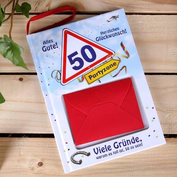 Geburtstagsbuch | zum 50. Geburtstag