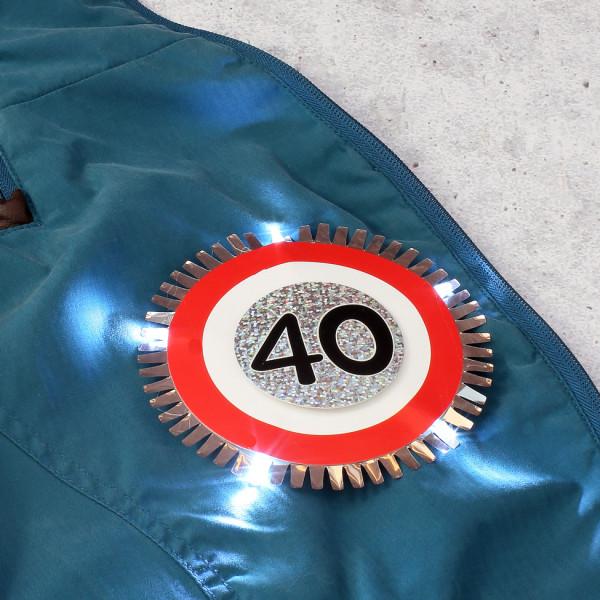 LED - Blink-Button zum Geburtstag
