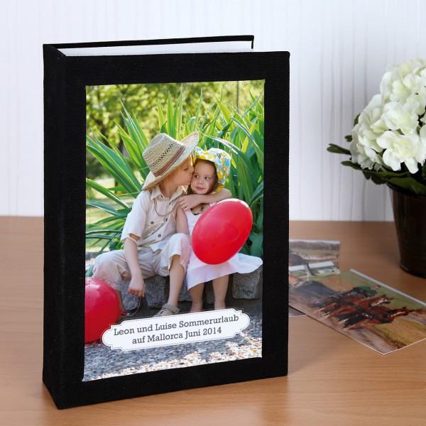 Fotoalbum mit Ihrem Foto und Text