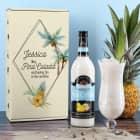 Pina Colada Set mit Geschenkverpackung und persönlichem Glas