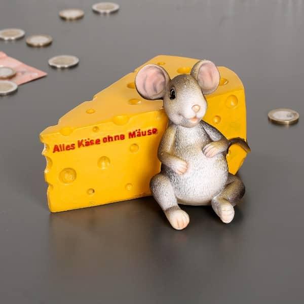 Spardose - Alles Käse ohne Mäuse