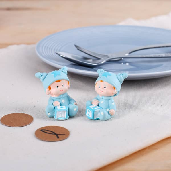 Babyfiguren im 2er Set für Jungen