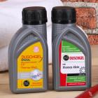 Duschgel in Motoröl-Optik für Männer mit Ihrem Wunschnamen