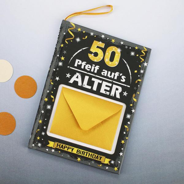 Männer Geschenkbuch zum 50.