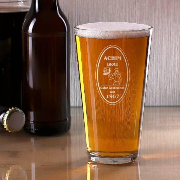 Bierglas American Lager