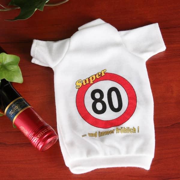 Flaschen T-Shirt Verkehrszeichen 80