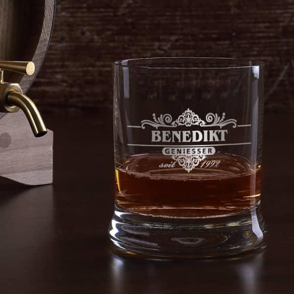 Geniesser Limited Whiskyglas mit Gravur