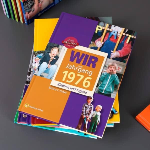 Jahrgangsbuch 1976 Kindheit und Jugend