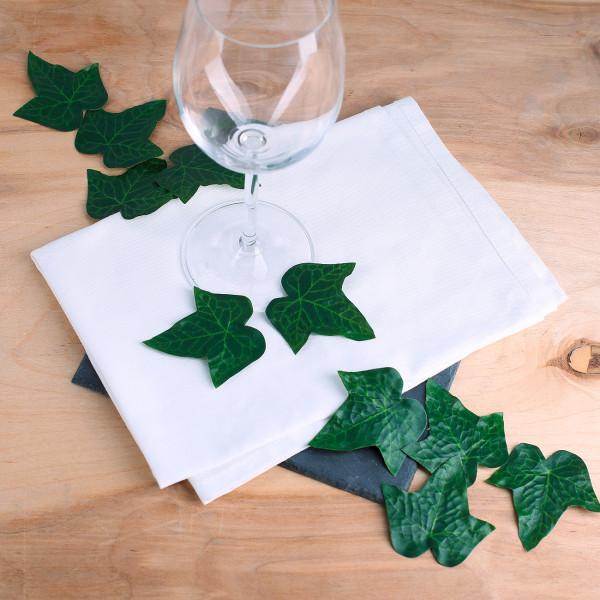 10 Deko Efeu Blätter