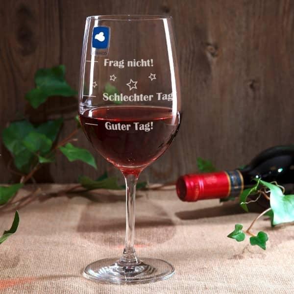 Leonardo XL Weinglas mit Stimmungsbarometer