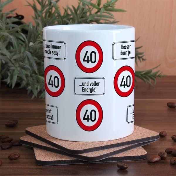 Alles Gute zum 40. Geburtstag
