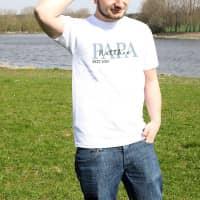 T-Shirt - Papa seit - mit Wunschtext und Jahr zum Vatertag