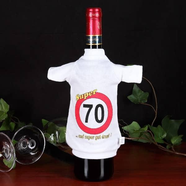 Flaschen T-Shirt Verkehrszeichen 70