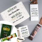 Glück ist... Geschenkset für die Liebsten mit Kakao, Cappuccino oder Kaffee