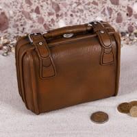 Spardose als Reisetasche