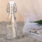 Mini Glückspost aus der Flasche mit Gravur