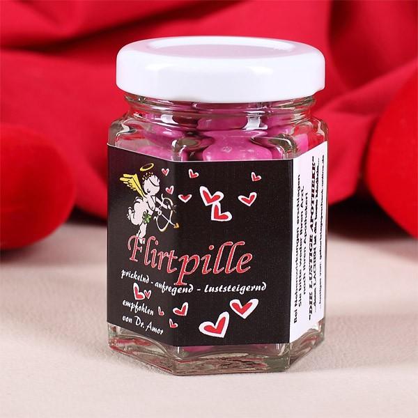 *Flirtpille* im Glas