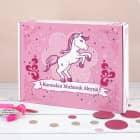 Ramadan Kalender mit Pink Pony und Wunschtext - zum selbst Befüllen