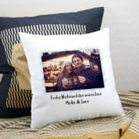 weihnachtliches Kissen - mit Ihrem Foto und Text