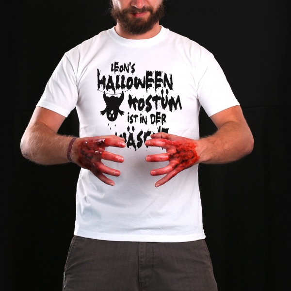 Herren T-Shirt als Halloween Kostüm