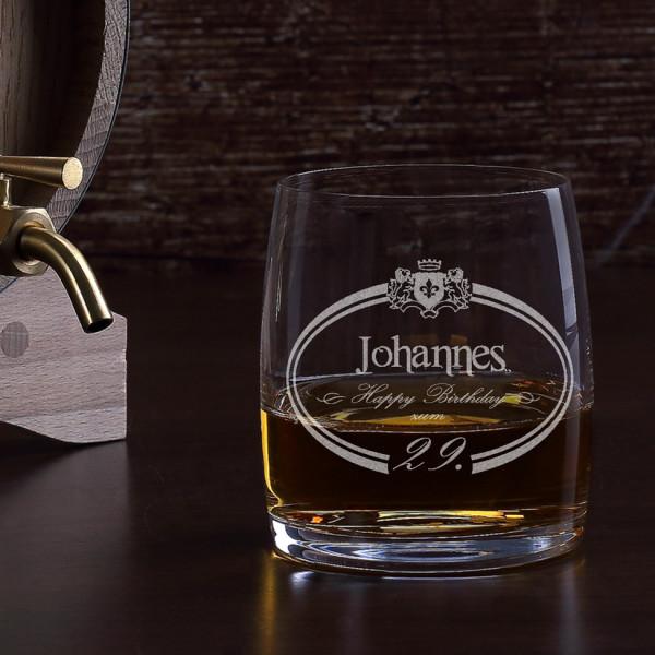 Happy Birthday Whiskyglas mit Gravur
