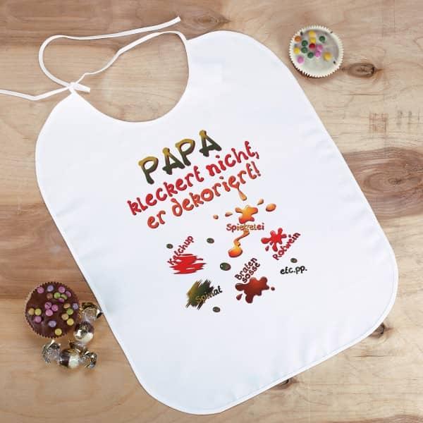 XL Latz - PAPA kleckert nicht, er dekoriert!