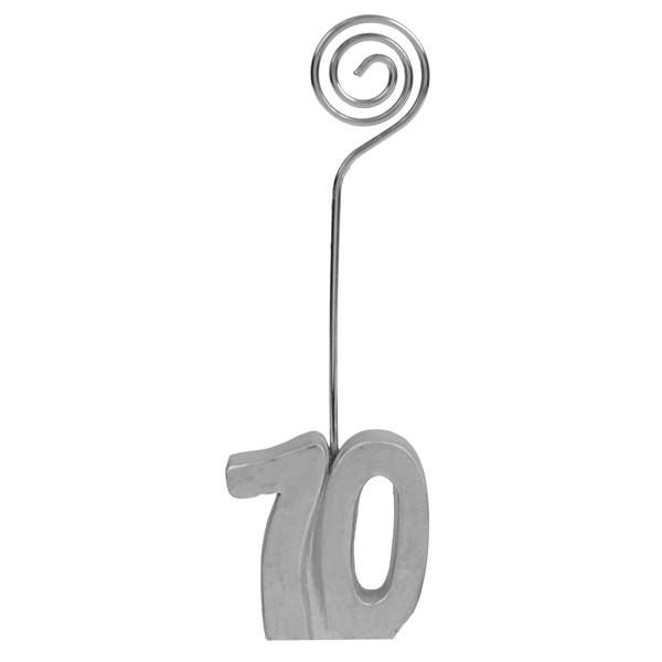 Tischkartenhalter zum 70. Geburtstag