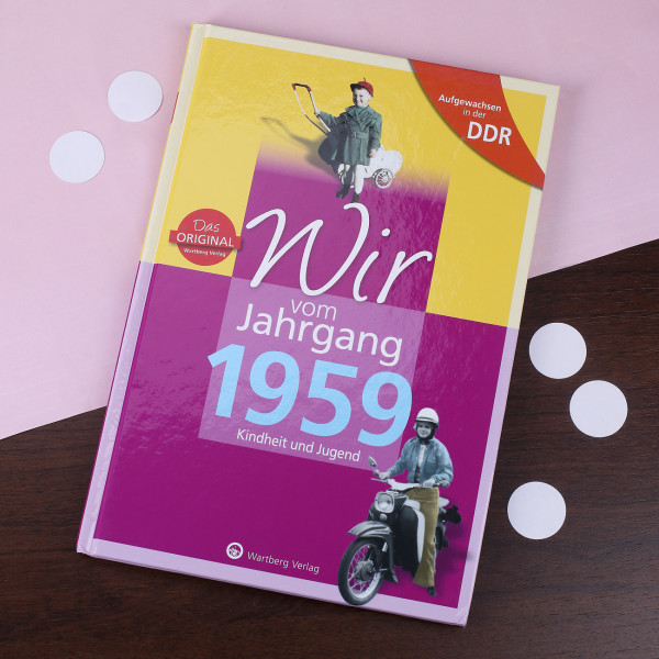 Jahrgangsbuch 1959 DDR