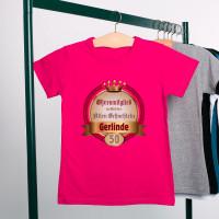 Geburtstags-T-Shirt für alte Schachteln