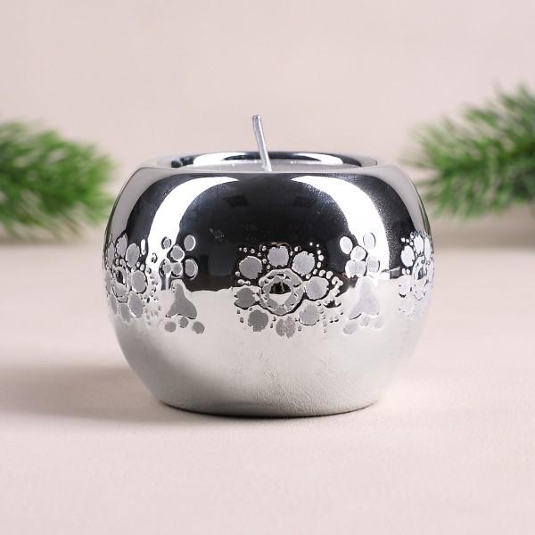 Keramik - Teelichthalter mit Applikationen