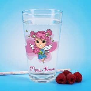 Trinkglas mit Name personalisiert