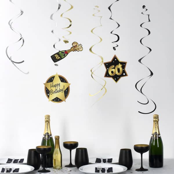 Party Dekoration Star zum 60. Geburtstag