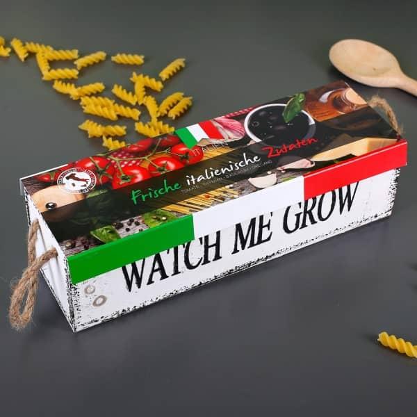 DIY Italienische Kräuterbox