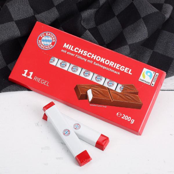 FC Bayern München Milchschokoriegel