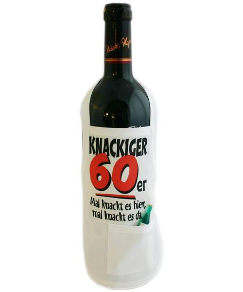 Flaschenschürze - Knackiger 60er