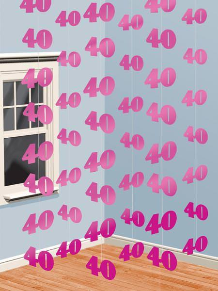 Deckenhänger in pink