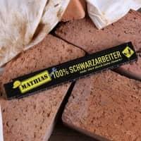 Zollstock für Schwarzarbeiter mit Name