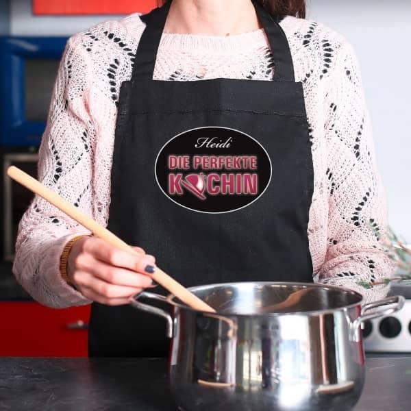 Kochschürze - die perfekte Köchin