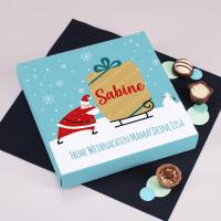 Lindt-Pralinen zu Weihnachten mit Ihrem Wunschtext, 100 g