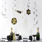 Party-Deko-Spiralen zum 50. Geburtstag - Star