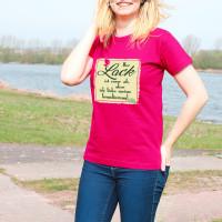 Damen T-Shirt - Der Lack ist ab, aber ich liebe meine Grundierung.